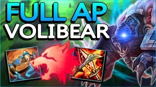 WTF ARE THESE BUFFS, RIOT?? NEW FULL AP VOLIBEAR WILL ONE SHOT ANYONE!! - League of Legends