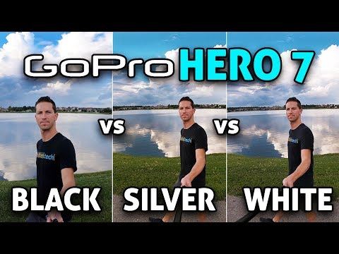 GoPro HERO 7 Black vs Silver vs White! (4K)