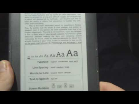 Kindle 3 Review Narrated by Text to Speech