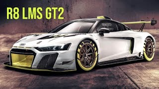 German automobile manufacturer audi has revealed the r8 lms gt2 customer race car. ready car will be sold as a track day machine. although currently...
