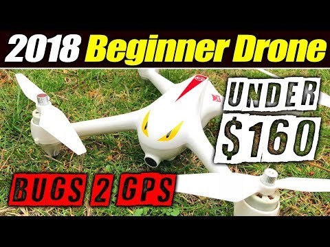Best 2018 Beginner Drone - Bugs 2 with GPS - Full Review & Flight Test
