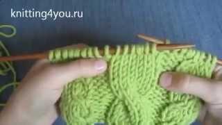 Вязание_для_начинающих. Узор_коса