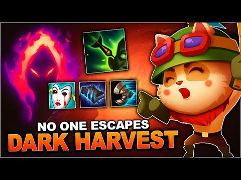DARK HARVEST TEEMO IS SO STRONG!! 23 STACKS EXPLOSIONS!! | League Of Legends (Season 9)