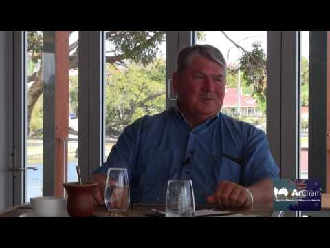 """Part 05 -  Alan Fisher visit to Argentina - """"They know how to cook beef"""""""