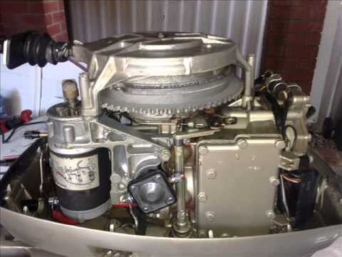 35Hp Evinrude Electric Conversion 1978 Model  YouTube