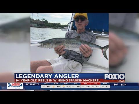 94-year-old Angler Reels In Winning Spanish Mackerel In Alabama Deep Sea Fishing Rodeo