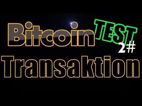 Bitcoin Transaktion Gebühren TEST 2