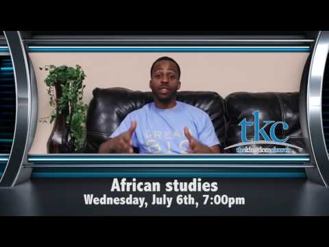 African studies promo