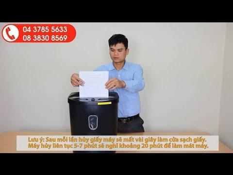 META.vn - Hướng dẫn sử dụng máy hủy tài liệu Silicon PS-812C