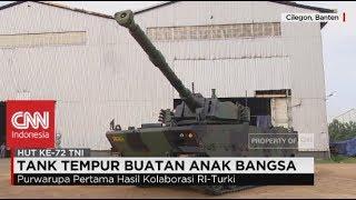 Tank Tempur Buatan Anak Bangsa