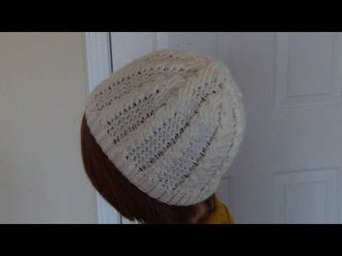 Crocheted Cable Hat/Beanie
