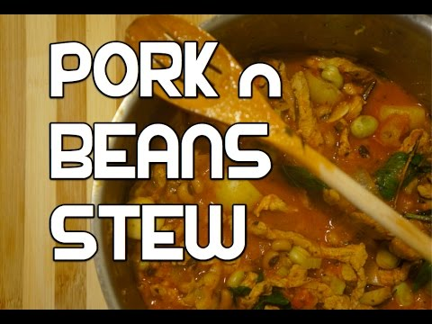 Easy Pork N Beans Stew Recipe