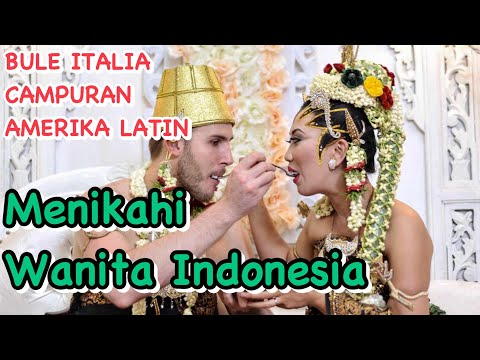 "Bule Itali Nikah ""Ryska & Victor"" INDONESIAN TRADITIONAL WEDDING"