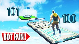 The 101 Level Default Deathrun for * BOTS *... (Creative fortnite)