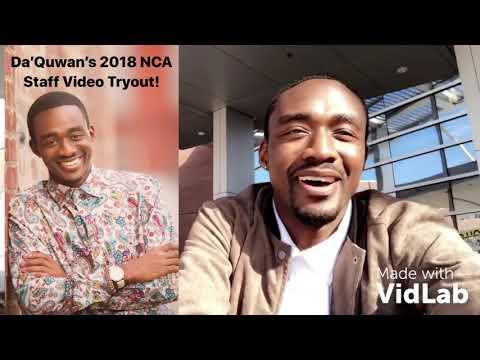 Da'Quwan's NCA 2018 Staff Tryout Video!
