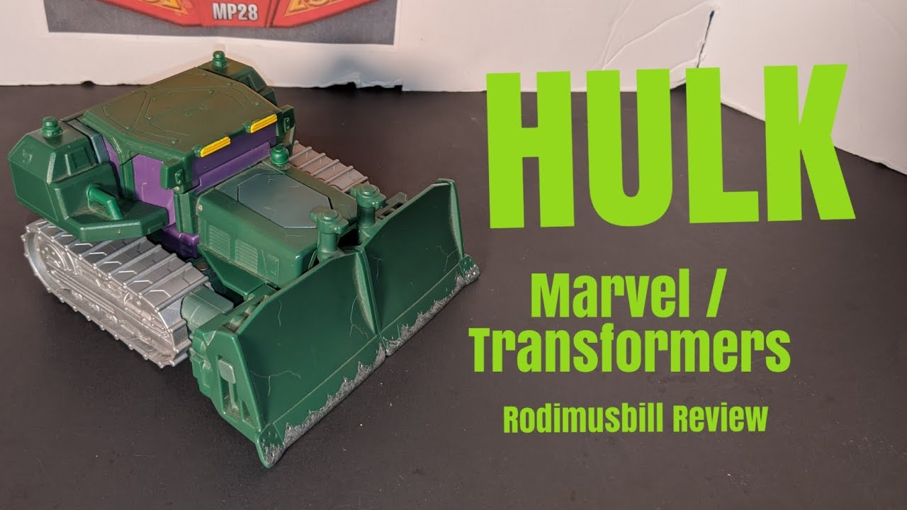 Transformers / Marvel Incredible Hulk Crossover Figure Review by Rodimusbill