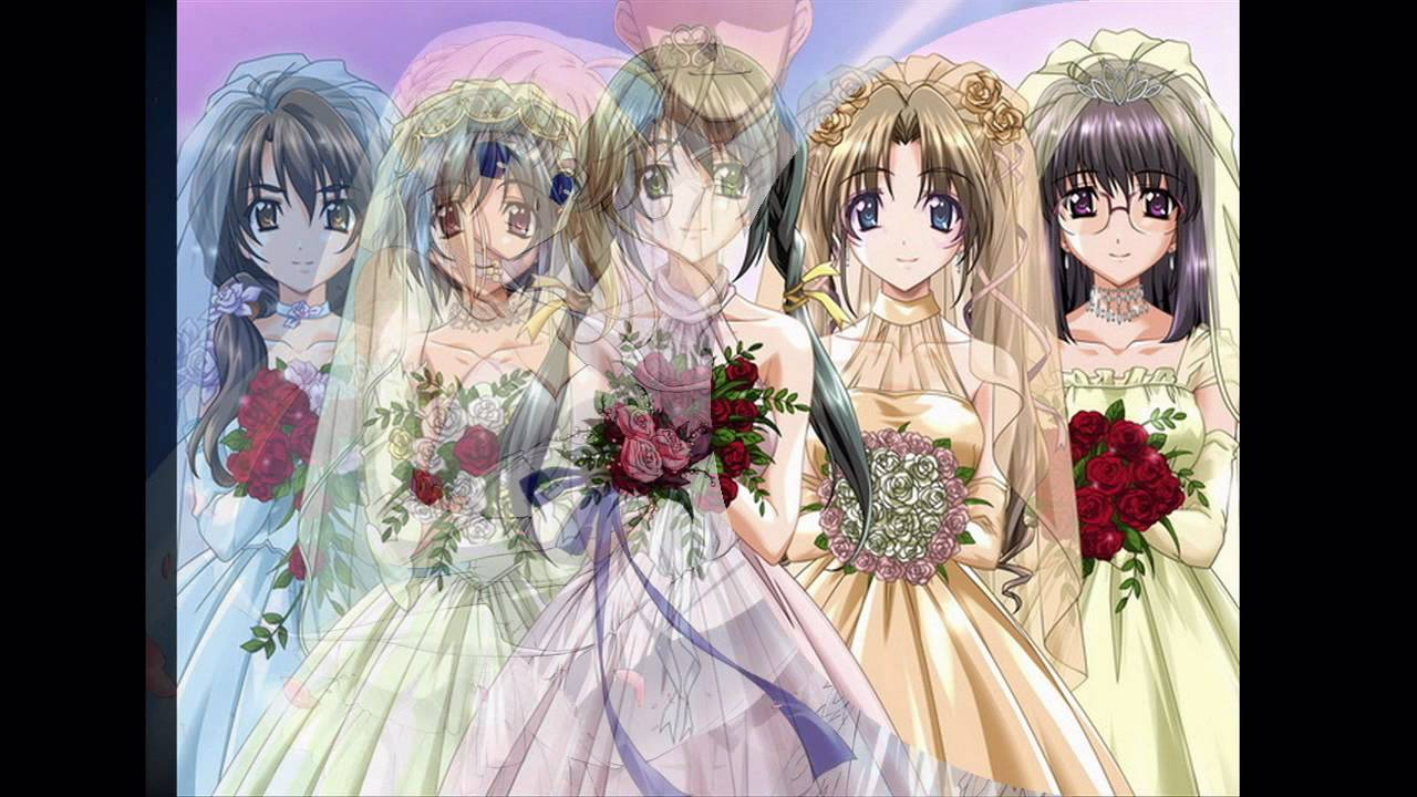 Anime bride pictures - YouTube