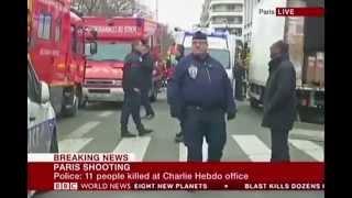 Suriyaa TV: Paris Terror Attack (BBC Breaking News on 07/01/2015) [HD Quality]