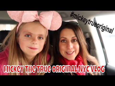 Mickey The True Original Exhibition NYC Vlog