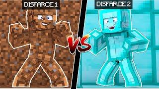 Minecraft: DISFARCE DE TERRA VS DISFARCE DIAMANTE - (Esconde-Esconde)