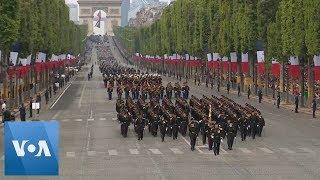 Macron Showcases European Military Prowess Despite Growing U.S.-Europe Tensions