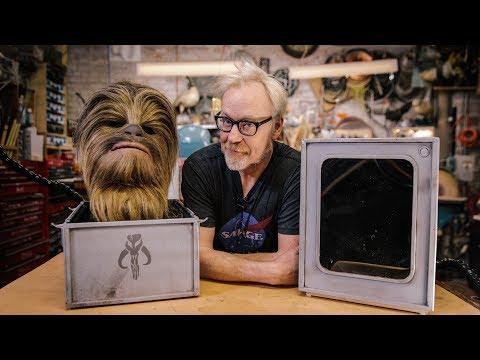 Adam Savage's Chewbacca Display Case!