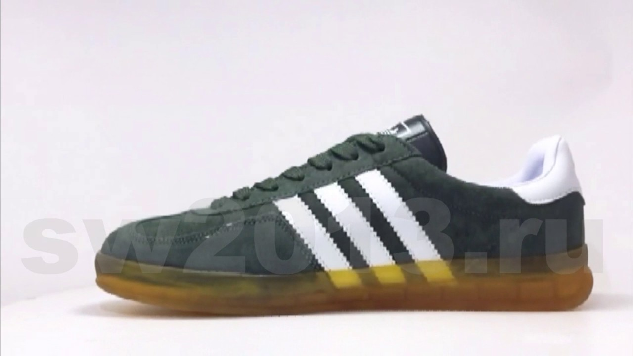 adidas gazelle green yellow