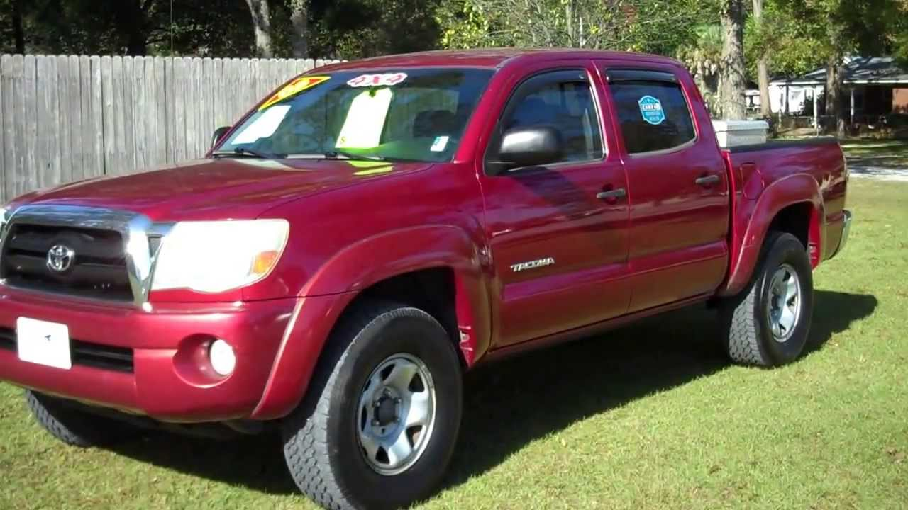 2005 toyota tacoma sr5 crew cab 4x4 v6 for sale leisure used cars 850 265 9178 youtube. Black Bedroom Furniture Sets. Home Design Ideas