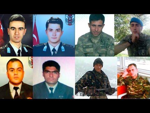 Türkiye Şehitlerini Anıyor - 13 Mayıs 2016 Şehitleri