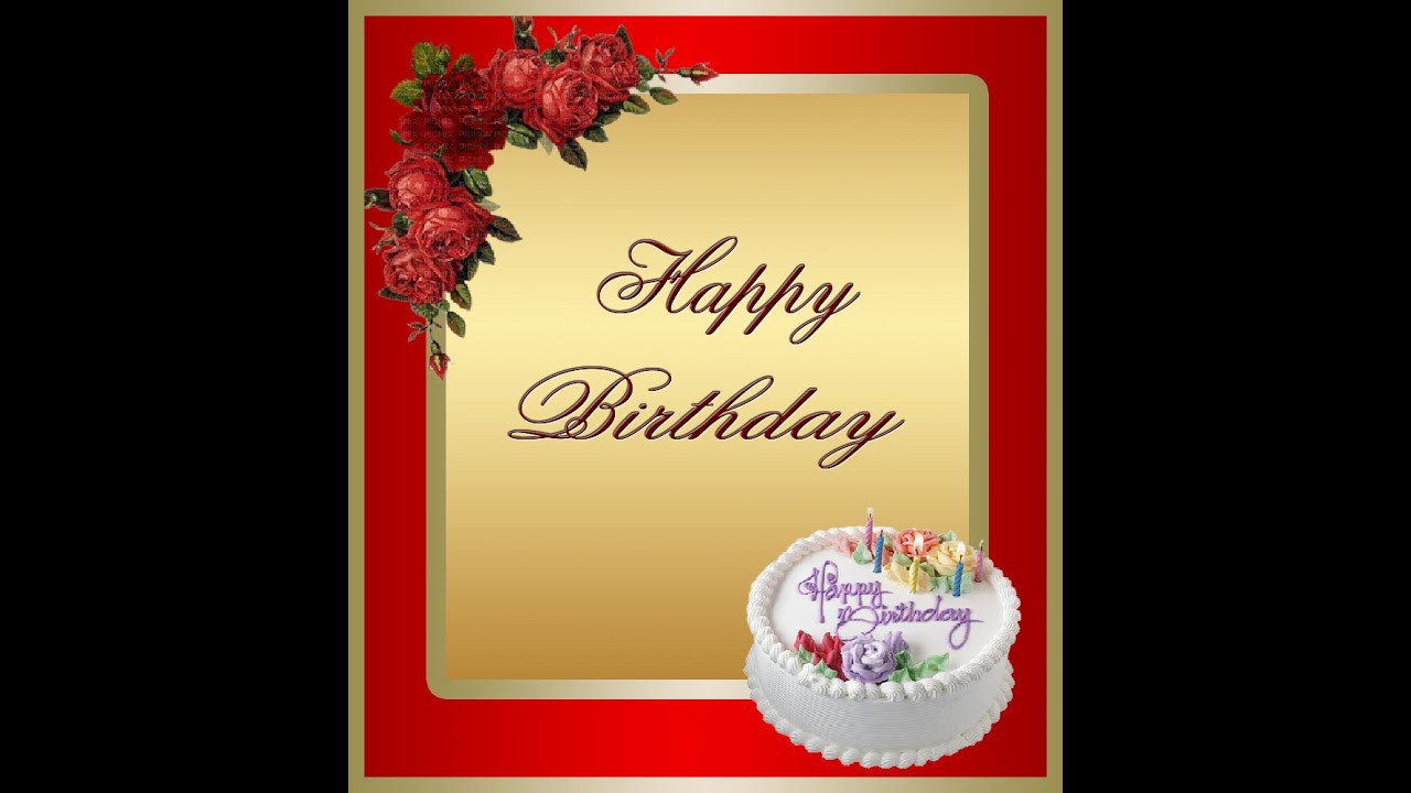 How To Create A Birthday Greeting Card In Photoshop ( In