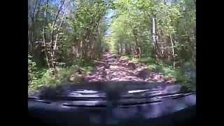 Дорога на Сурское после сезона дождей оказалась не простой