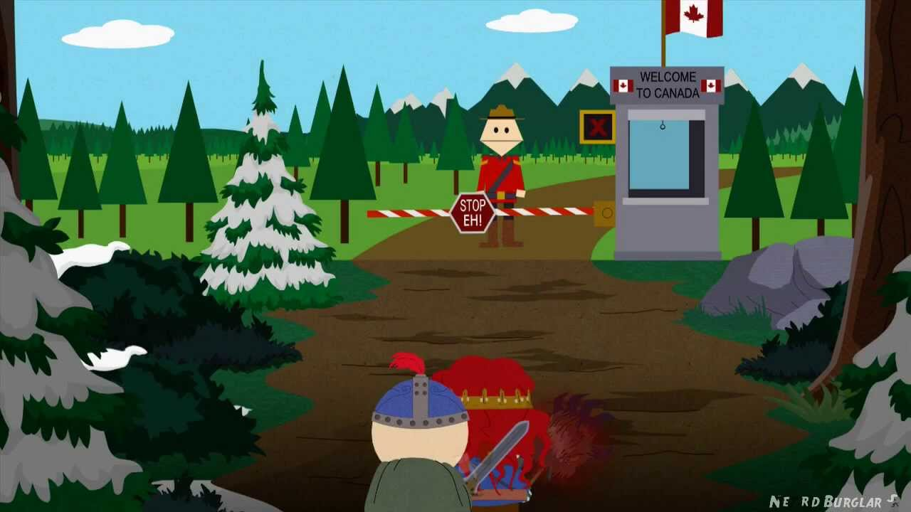 Christmas In Canada South Park.How To Find Canada South Park The Stick Of Truth