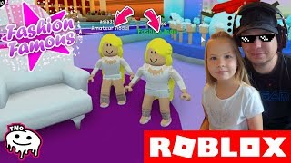 WINS BEST of us ✨ Fashion Famous | Roblox | Daddy and Yohana CZ/SK