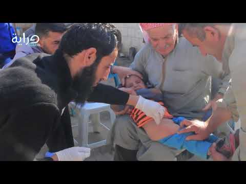 مديرية صحة حماة الحرة بالتعاون مع فريق لقاح سوريا تبدأ حملة التلقيح ضد شلل الاطفال العضلي