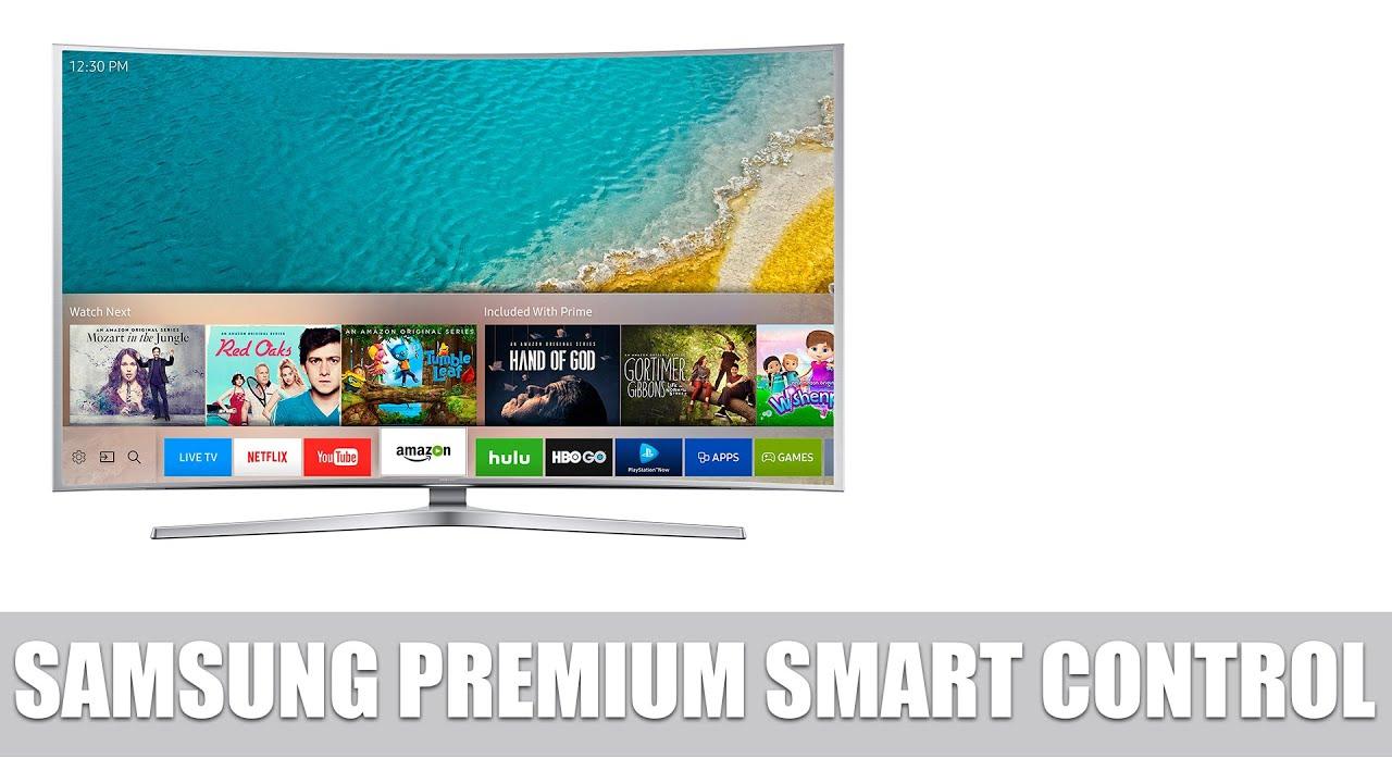 Samsung Premium Smart Remote: Neues Bedienkonzept von Samsung Smart TVs  vorgestellt