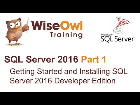 SQL Server 2016 Part 1 - Getting Started and Installing SQL Server 2016 Developer Edition