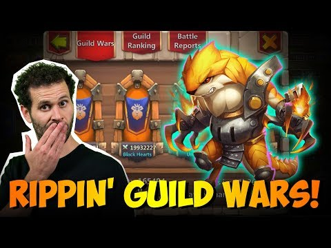 RIPPER Vs Breakthrough Lvl 30 Lavanicas Guild Wars Castle Clash