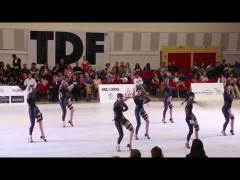 Revolution Dance Studio at TDF dance competitions in Thessaloniki