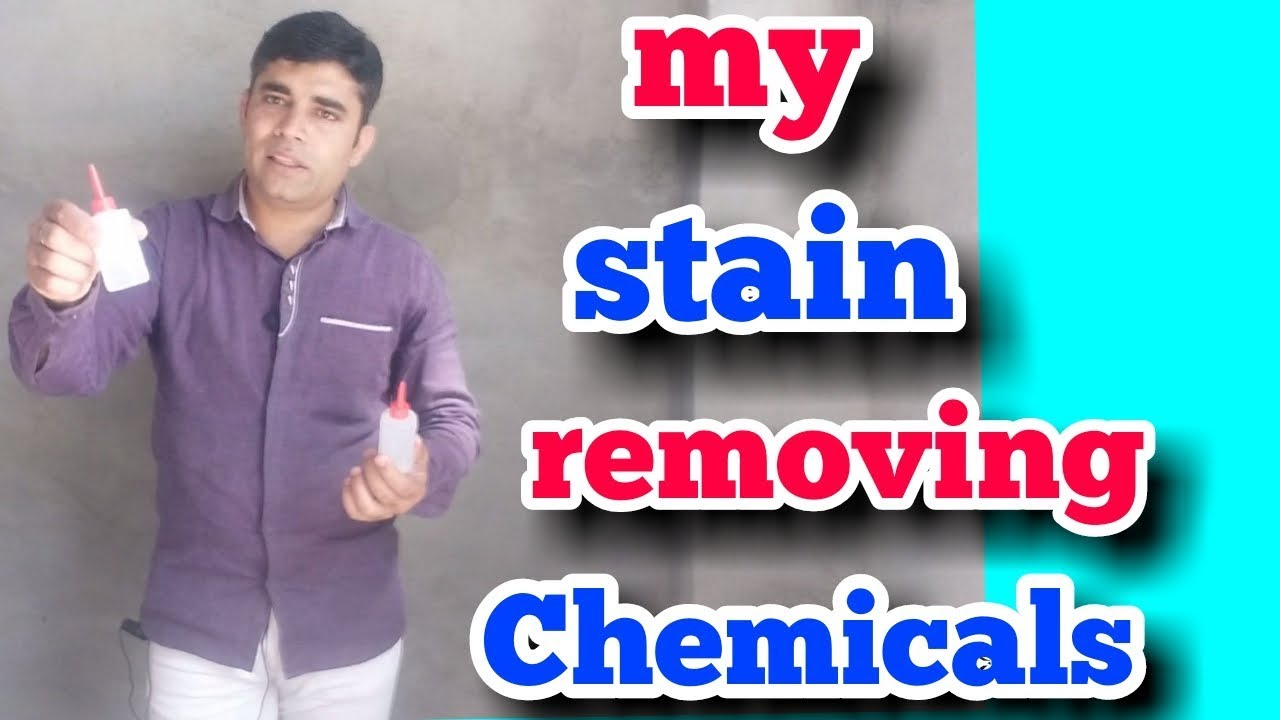 My stain removing chemicals stain cleaning solution  (hindi)