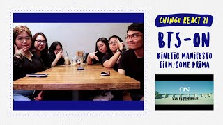 Gambar cover CHINGU REACT #21: BTS (방탄소년단) 'ON' Kinetic Manifesto Film : Come Prima (Indonesia) || 93 Line Chingu