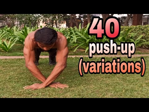 Different types of push ups for beginners to advanced ।�� 40 push up variations ��।Part-1.