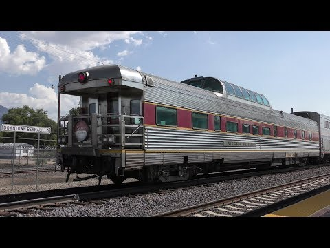 Private Varnish On The Southwest Chief 4K