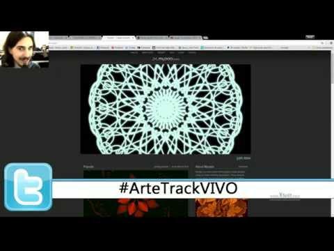 Arte Track en VIVO - Páginas web para Dibujar de manera Original