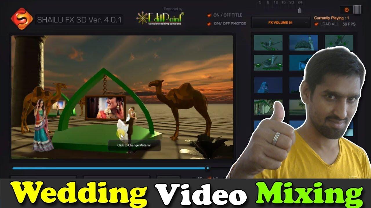 Shailu Fx Wedding Video Mixing & Editing | How To Edit Videos |  Professional Video Editor