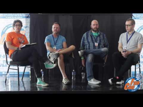 FanCon Cape Town Comic Con 2016 Image Panel 01 Jason Aaron, Jamie McKelvie & Ian Churchill