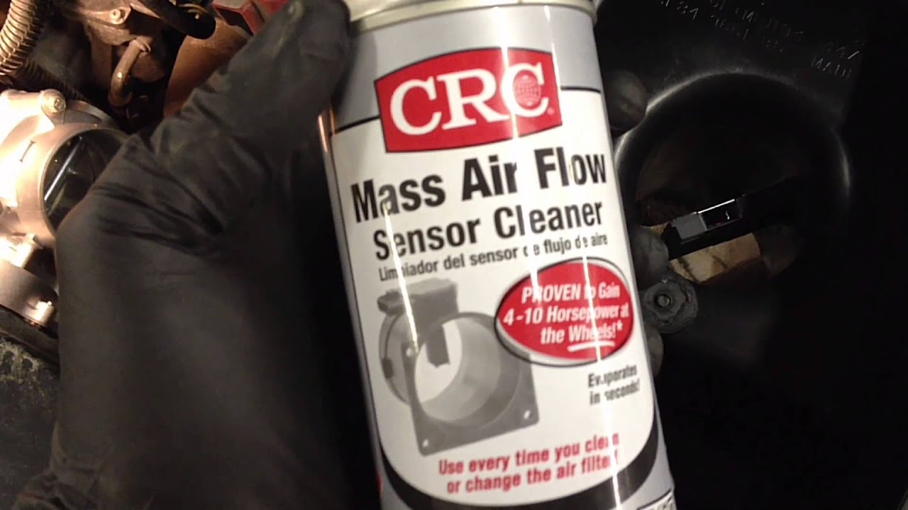 how to clean a mass air flow sensor properly [ 1280 x 720 Pixel ]