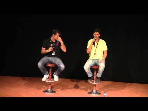 Claudio Serrano y David Robles - WizardCon 2014