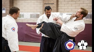 Steven Seagal Aikido master class in Moscow. 24.09.2018