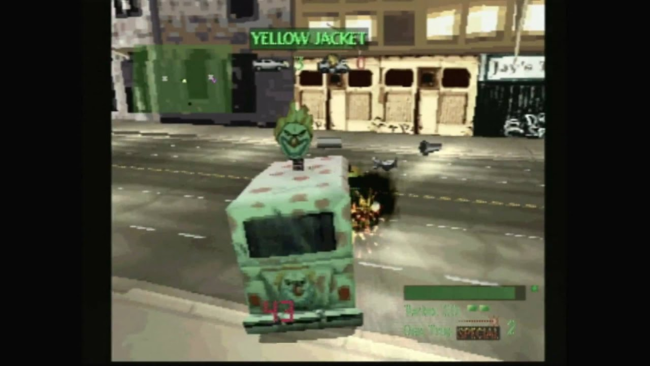 Car Shooting Games Playstation