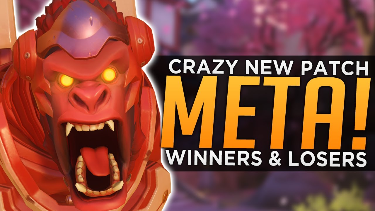 Overwatch: CRAZY NEW Patch Meta! - Winners & Losers thumbnail